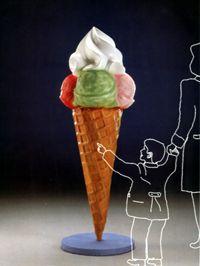 Coni gelato vetroresina